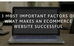 3 Most Important Factors of What Makes Your Ecommerce Site Successful